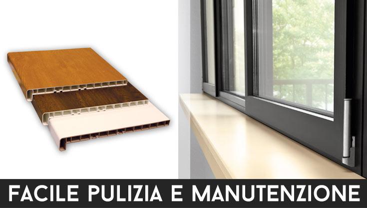 Davanzali interni in legno per finestre - Davanzali per finestre ...