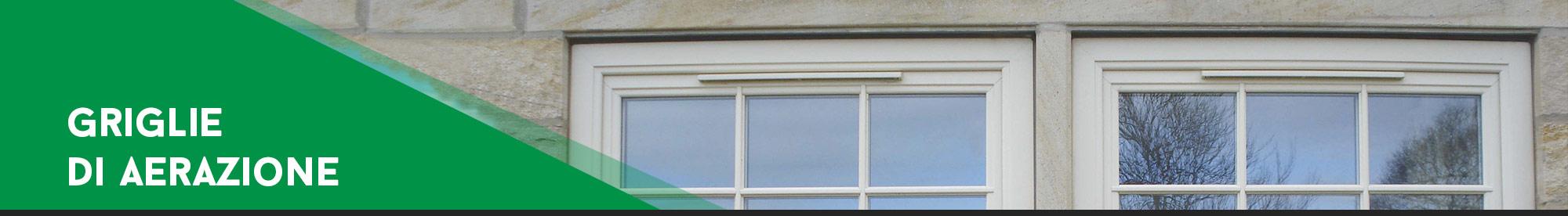 Griglie di aerazione desa fenster - Coibentazione davanzali finestre ...